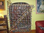 Mechanical K'nex Computer