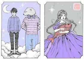 Ice by LunaAyArts
