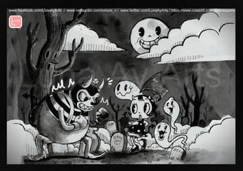 Milly vs. The Devil by LunaAyArts
