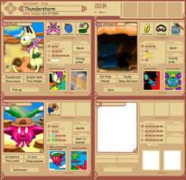 PMDU app2 Team Thunderstorm by A-Cat-art
