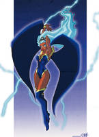 Storm coloring 1 by VPdessin