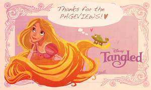 Thanks from Rapunzel by VPdessin