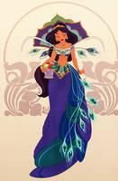 Jasmine Peacock Princess