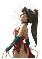 Wonder Woman by VPdessin