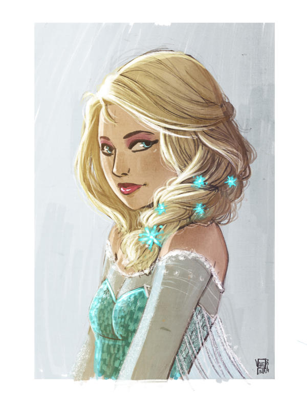 Elsa by VPdessin