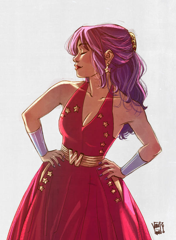 Wonder Woman Vintage by VPdessin