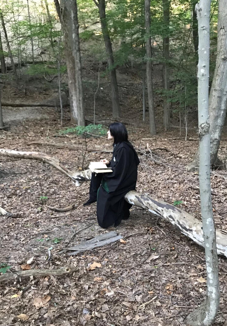 Severus in the forest by CamilliaTepes