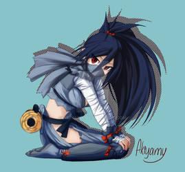 YCH commission: Kunoichi - 'Disgaea series'