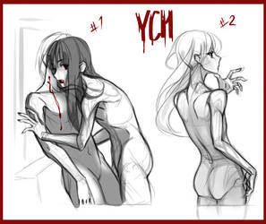 YCHs Set price (OPEN 1/2) by Akiyamy