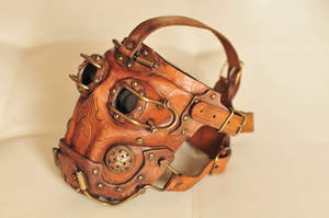 Gas mask detail by DenBow