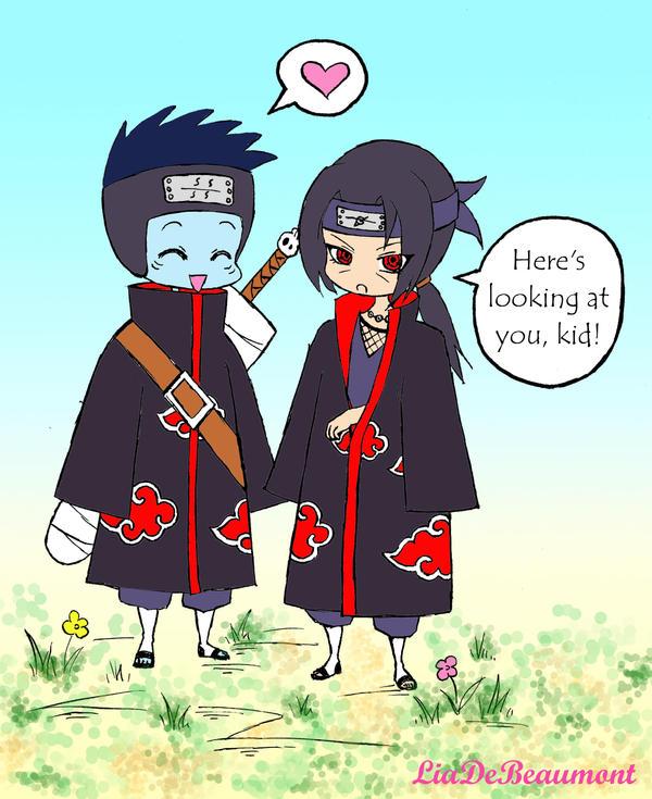 chibi itachi and kisame relationship