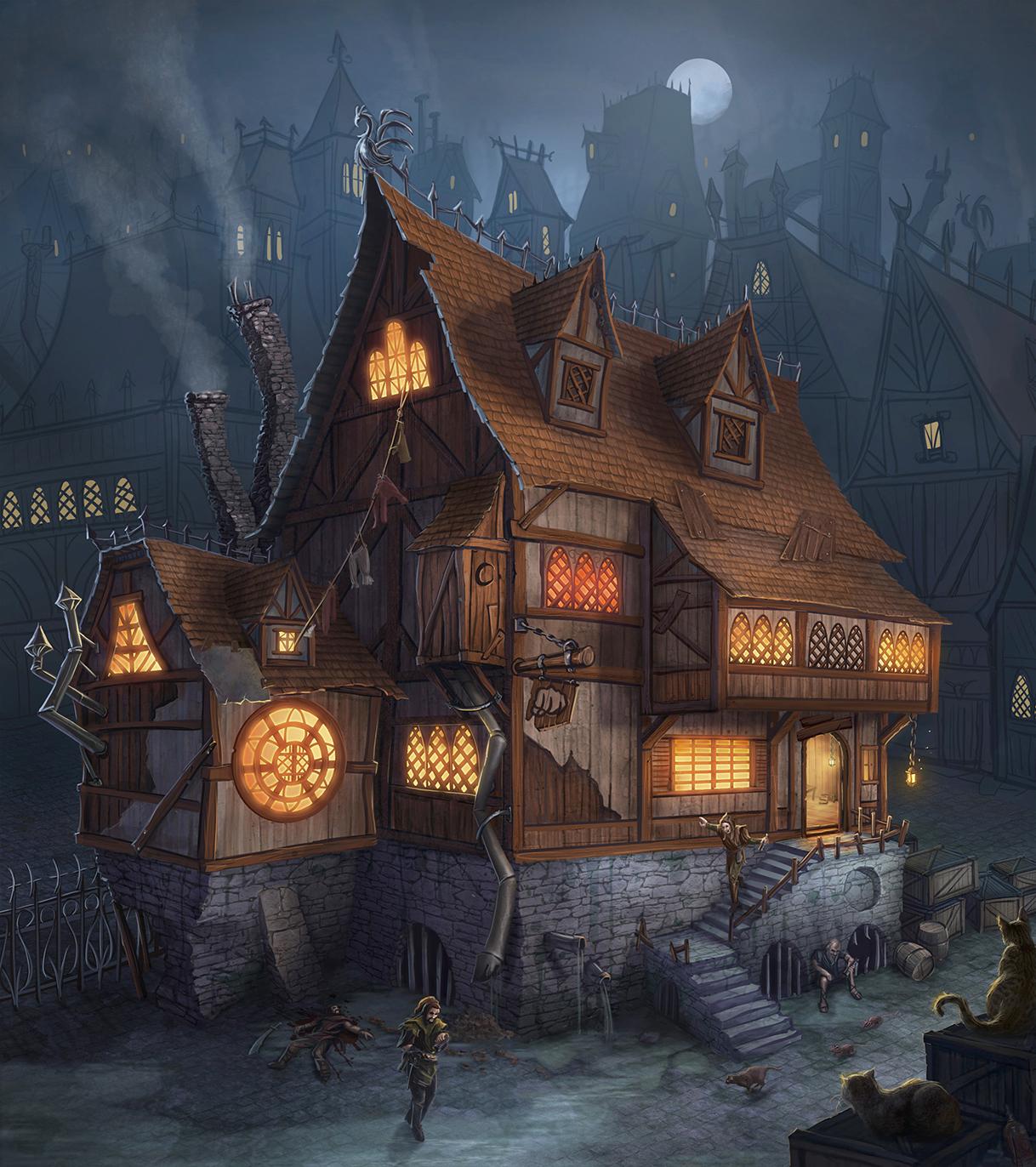 'Left hook' Tavern by Takeda11