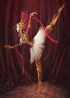Steampunk Coppelia by Takeda11