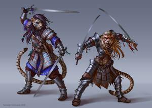 Khajiits Warriors