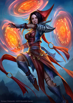 Myra, The Goddess