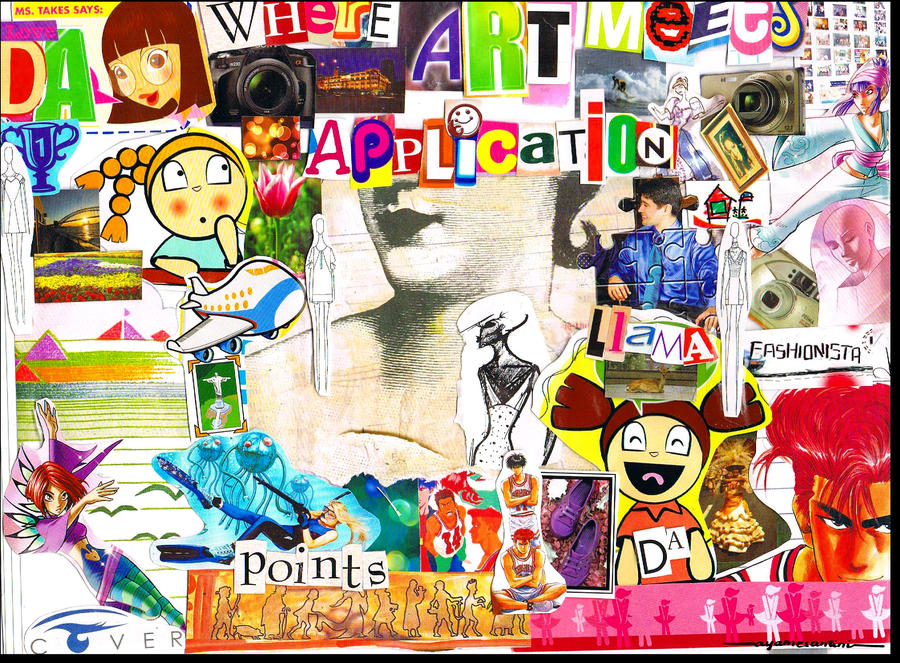 Love DeviantArt1 Collage by ayamesantini