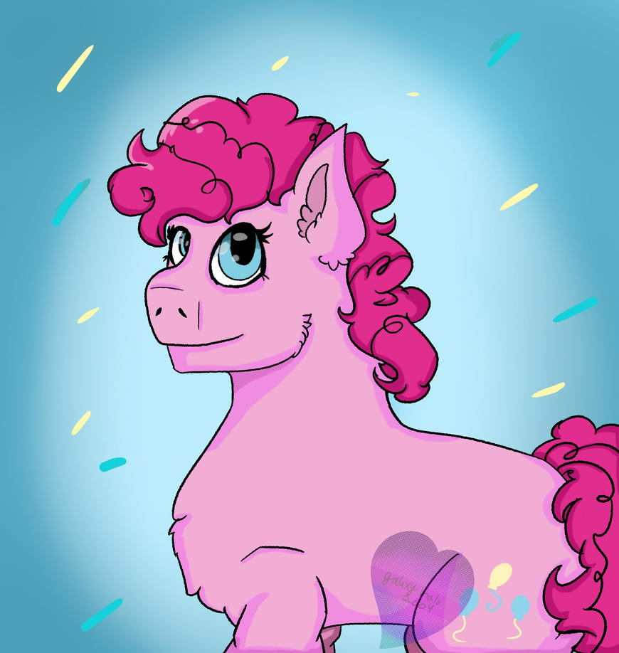 Pinkie Pie by Galaxieshalos2004