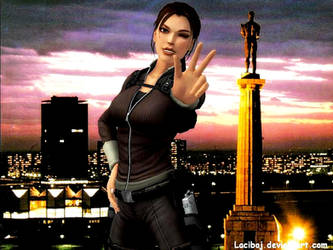 Lara Croft 24 by Laciboj