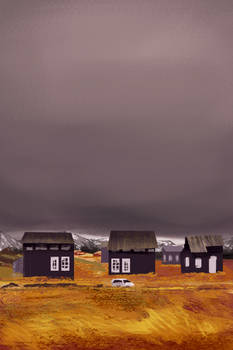 Houses. Speedpaint practice