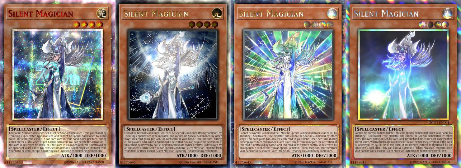 Silent Magician (4 rarities)