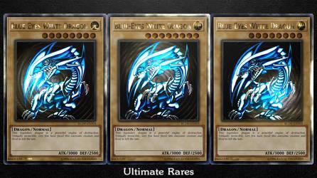 Blue-Eyes White Dragon (Ultimate Rares) by sangmaitre