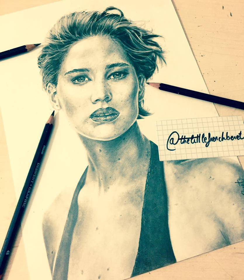 Jennifer Lawrence (2) by thefrenchberet