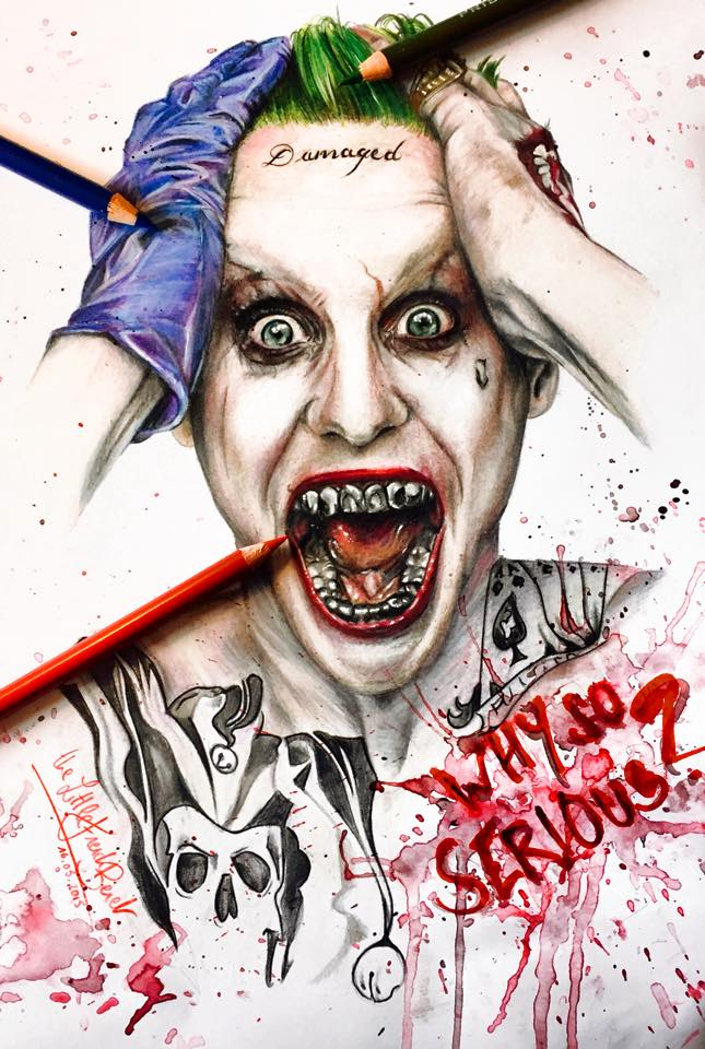 Jared Leto Joker By Thefrenchberet On DeviantArt