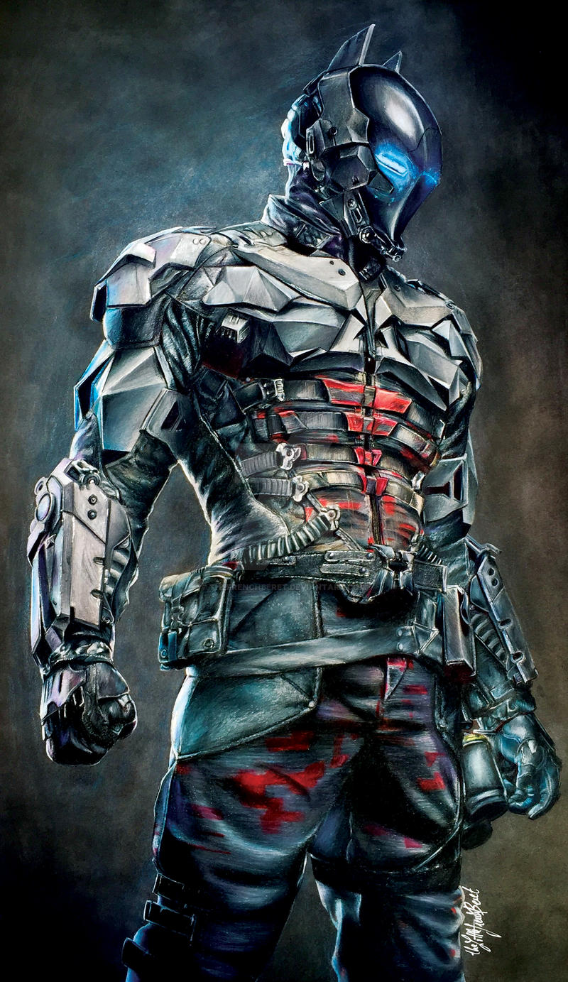 Arkham Knight PRINT by thefrenchberet