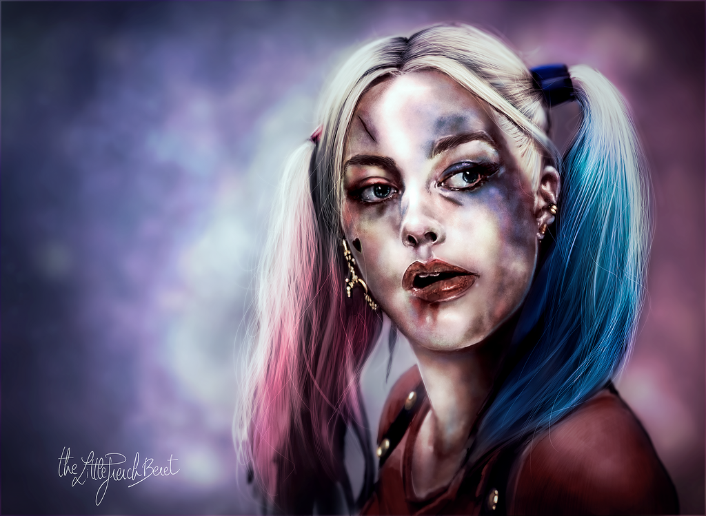 Harley Quinn Fanart Wallpaper by thefrenchberet