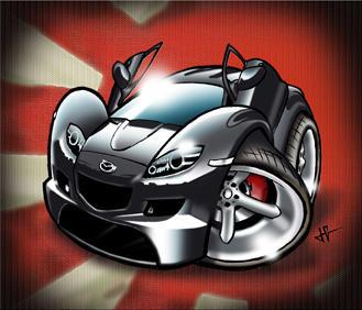 Mazda Rx8 by Jomorphose