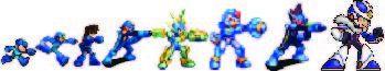 V-Series: Evolution of Megaman