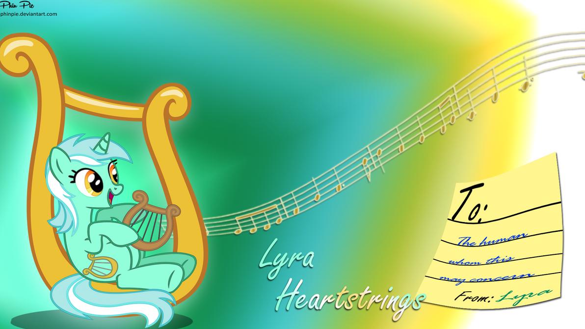 Lyra Heartstrings Wallpaper By
