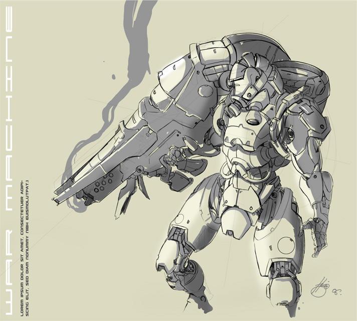 The War Machine. by greyhole