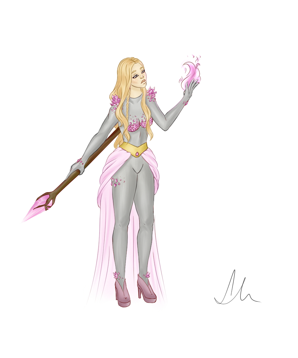 Character design: Teela by Laura-Nagy