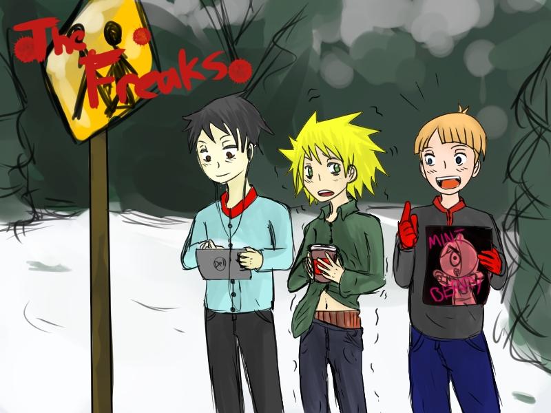 The Freaks by DarkHarajukugirl