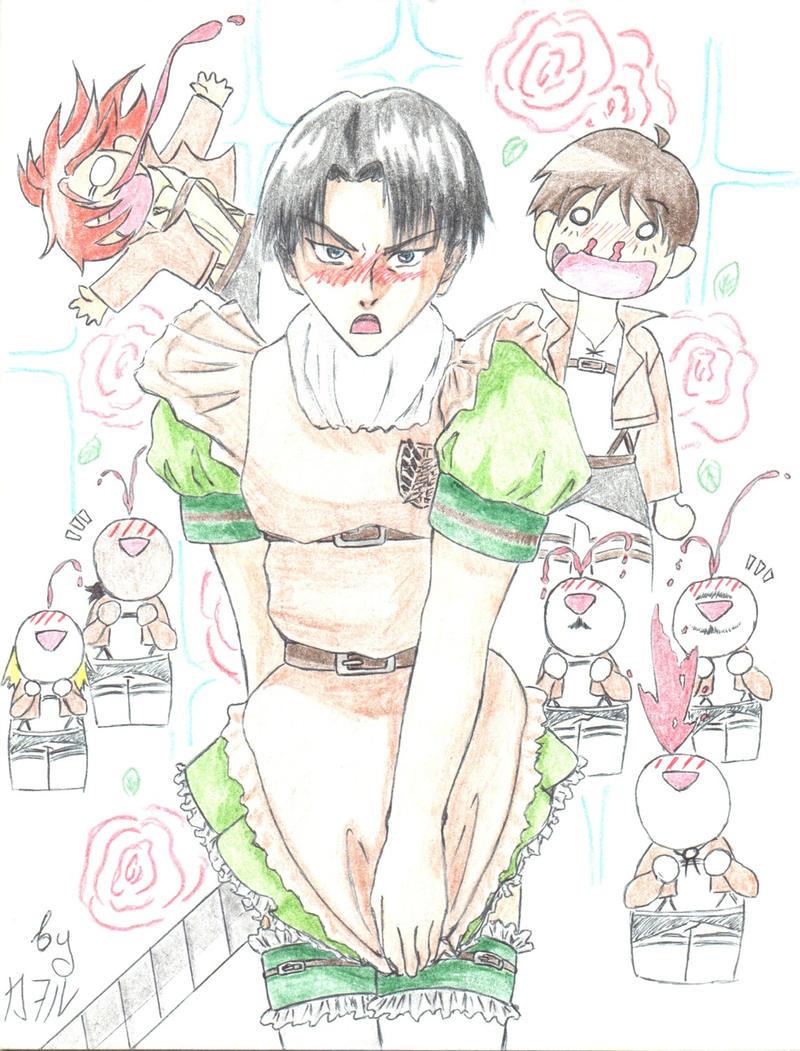 Maid Levi by Nagisa-Kaworu