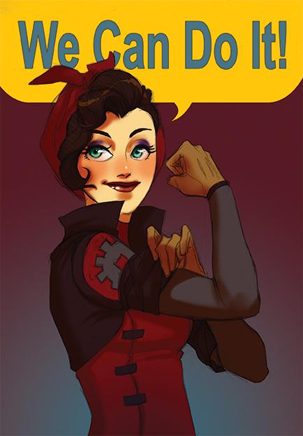 We Can Do It! by lauren-bennett