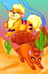 Dancing Desert by lauren-bennett