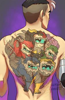 Shiro's Tattoo