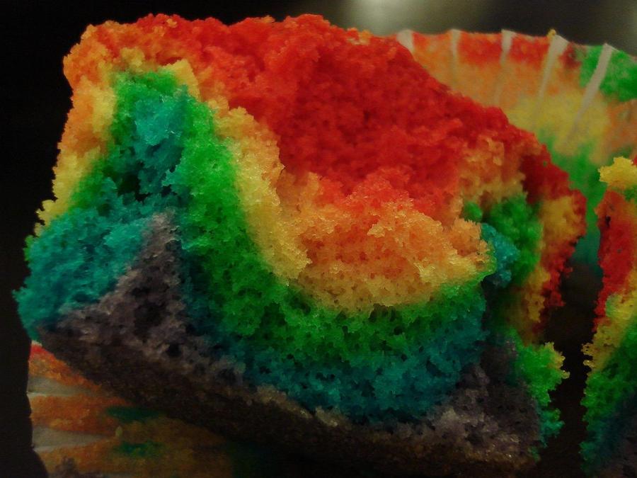 Rainbow Cuppycake