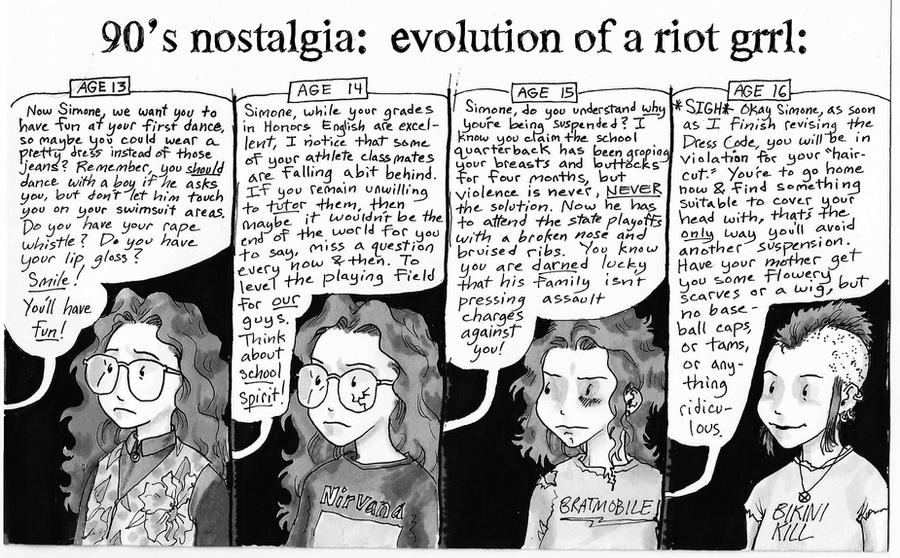 riot grrl culture and the third wave feminism The riot grrrl movement: the feminism of a new generation (need to know library) turner believes that riot grrrl represents the third wave of feminism.
