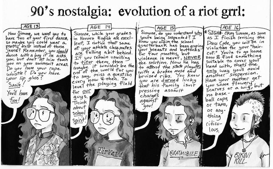 Riot Grrrl Forever by Magzdilla