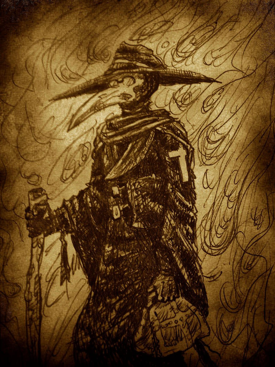 The Plague Doctor by Magzdilla on DeviantArt