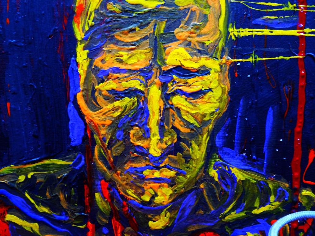 Sad Art Paintings Painting Detail of The Sad Guy