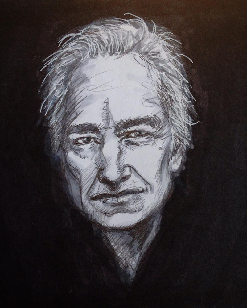 Alan Rickman by Magzdilla