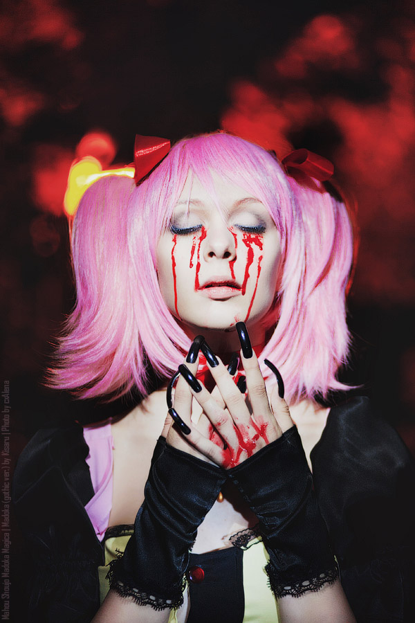 Dark Madoka by kisaruhime
