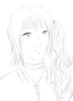 Fast Drawing : Serah Farron
