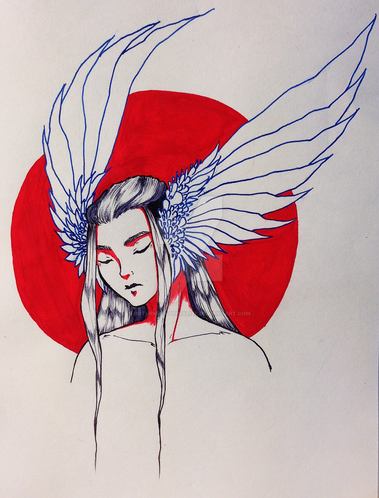 Gouache color for red by Soturminationalize