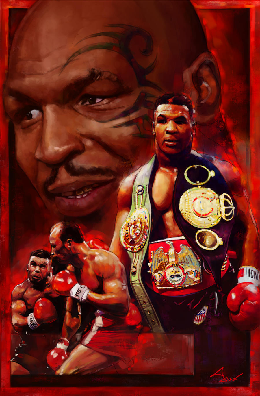 Mike Tyson by novicekid