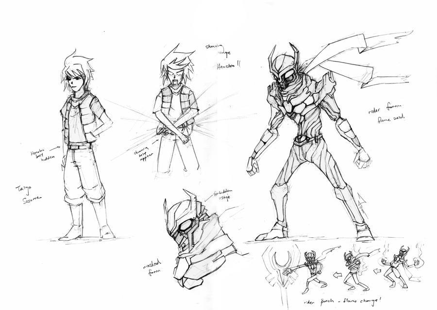 Kamen Rider Masked Agito by novicekid